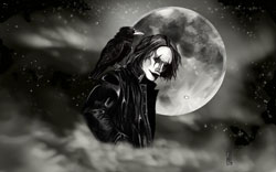 the crow painting digital